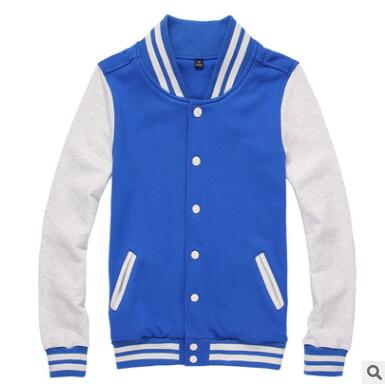 Modische Korean baseball-uniform farbe Mosaik hoodie hohe-ende collarwear klasse jacke GZ-67