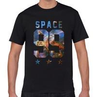 Men Creative Funny T Shirt Space Galaxy 99 Star Skull Bird Tiger Boy Cool T Shirt