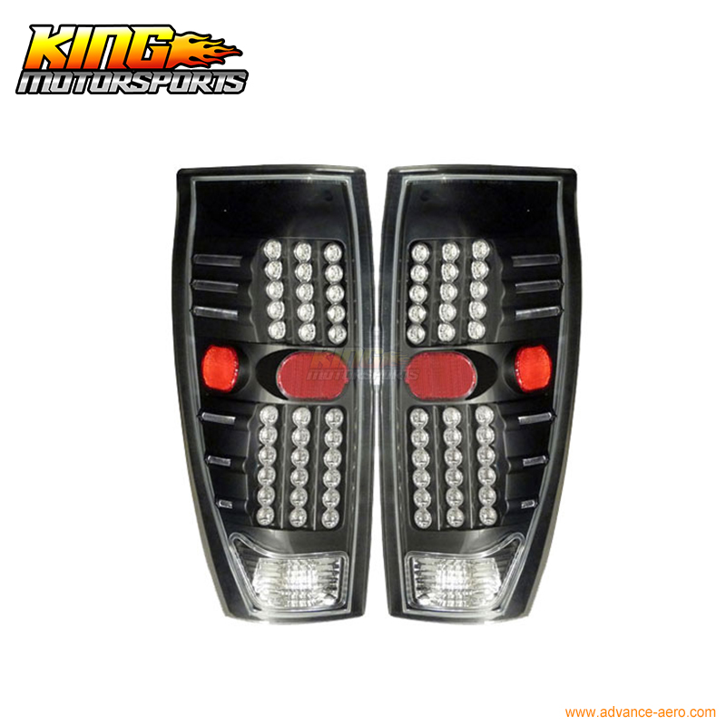 For 2002-2006 Chevy Avalanche LED Tail Lights Lamps Black USA Domestic Free Shipping for 2003 2005 honda accord 2dr led tail lights black 2004 usa domestic free shipping