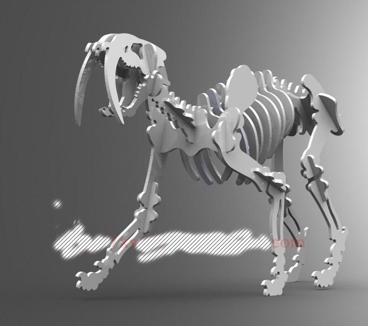 Belodon Dinosaur Dragon DWG CAD Drawing File For Cnc Laser Cutting Engraving D9