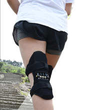 1 pcs Joint Support Knee Pad Breathable Non-Slip Lift Pain Relief For Power Spring Force Stabilizer Booster Elder