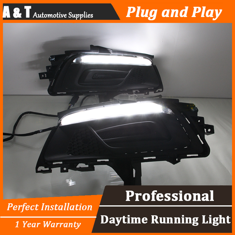 car styling For Chevrolet Cruze LED DRL For Cruze led fog lamps led daytime running lights High brightness guide LED DRL