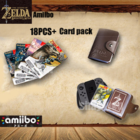 Zelda Amiibo NFC Tag Cards Breath Of The Wild Full Set 20 Heart Wolf Link Fierce