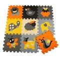 Meiqiku 9 pçs/set jogar baby mat puzzle de espuma de EVA/espuma de EVA Dos Desenhos Animados pad/Esteiras de Bloqueio para crianças playmat