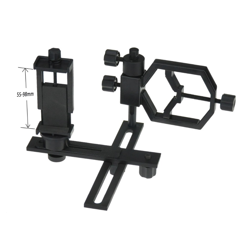 Universal Digital Camera Cell Phone Bracket Support Holder Mount Spotting Scopes Telescope Adapter Multifunction