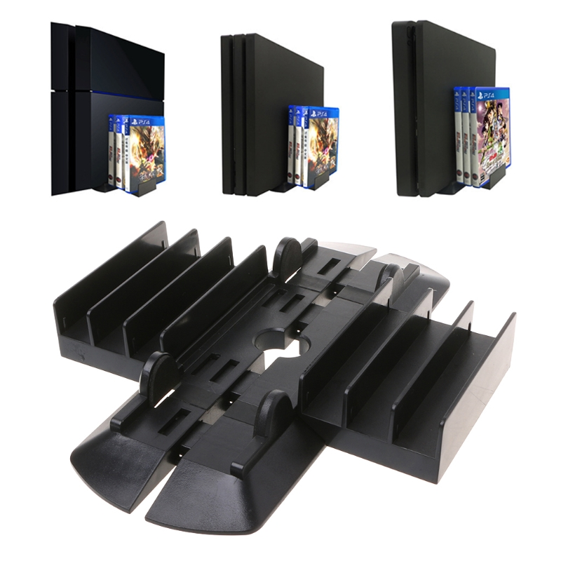 Multi-Function Vertical Cooling Stand Disk Holder Bracket For PS4/PS4 Slim/Pro