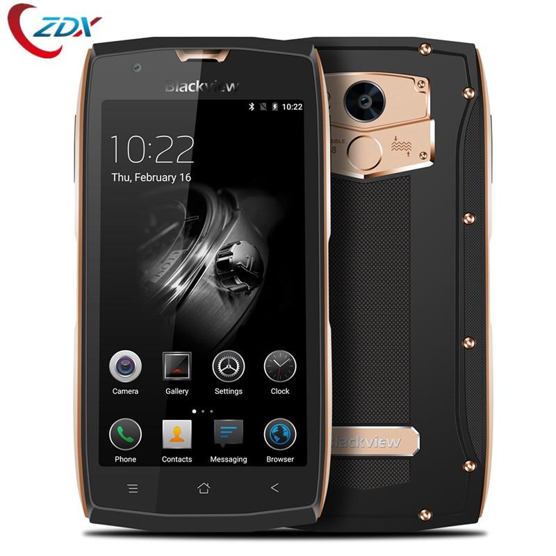 "Цена за Последним Blackview BV7000 Pro Мобильный Телефон IP68 Водонепроницаемый MT6750T Octa Ядро 5 ""FHD 4 Г + 64 Г Отпечатков Пальцев GPS Глонасс 4 Г Смартфон"