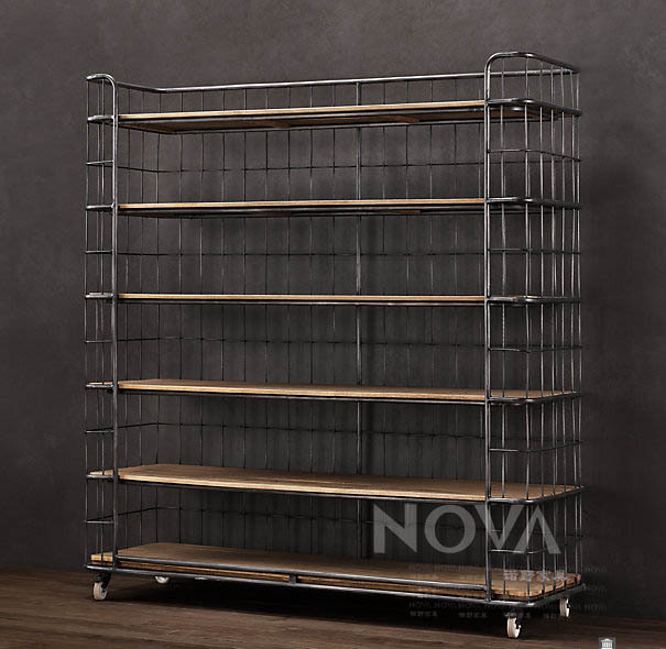 TH Design French country style furniture wrought iron mesh