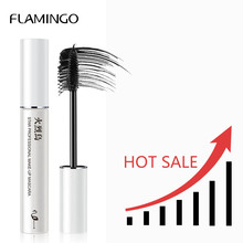 Фламинго новая брендовая тушь водонепроницаемый комплект подводок для глаз черная тушь для ресниц Толстая быстросохнущая тушь для завивки ресниц 6017