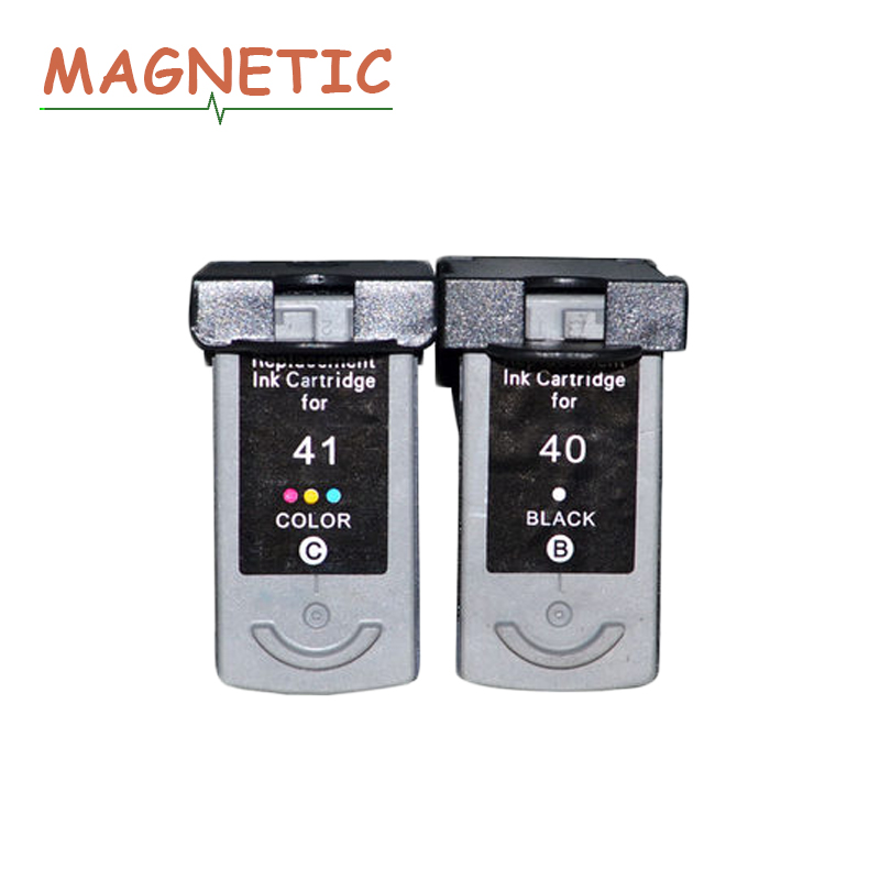 2X PG40 CL41 Compatible Ink Cartridge PG 40 CL 41 For Canon PIXMA iP1600 iP1200 iP1900 MX300 MX310 MP160 MP140 MP150 printers