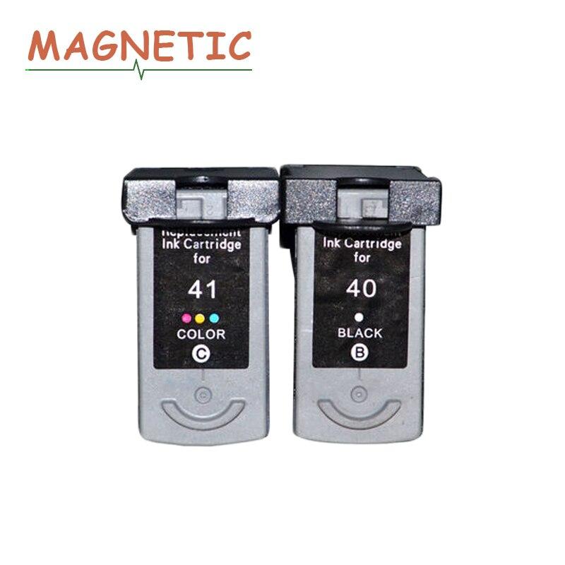 2x PG40 CL41 Kompatibel Tintenpatrone Für Canon PG 40 CL 41 PIXMA iP1600 iP1200 iP1900 MX300 MX310 MP160 MP140 MP150 drucker