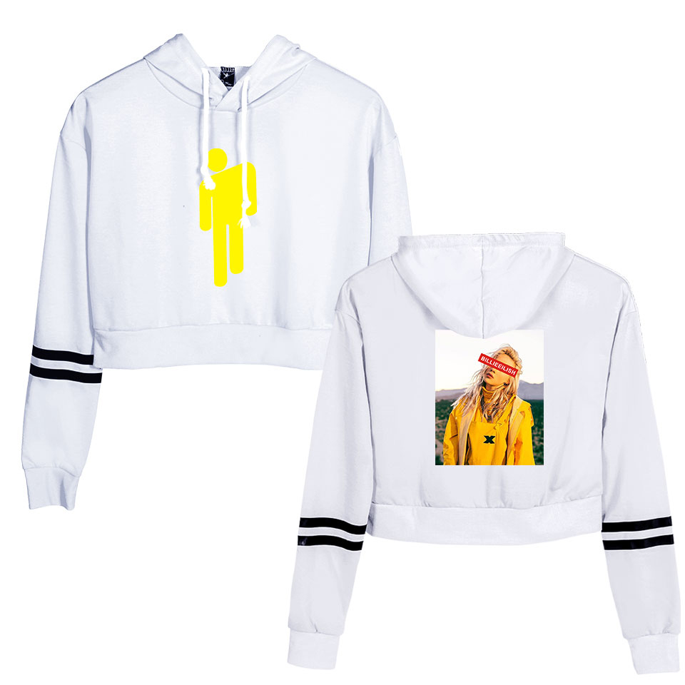 billie eilish sweatshirt white