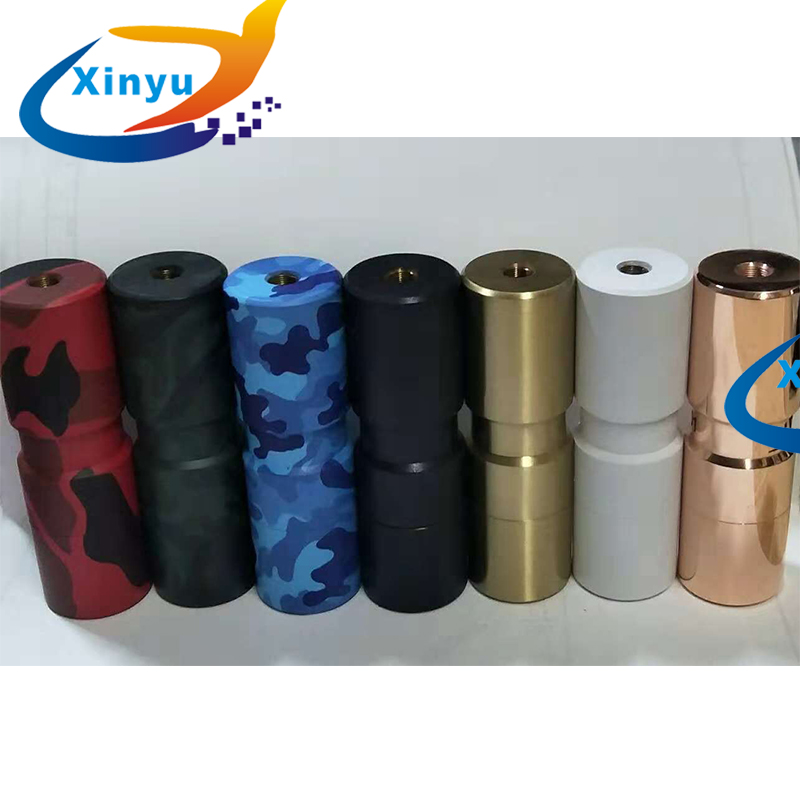 HOT SUB TWO Mechanical Mod 18650 Battery Brass Red Copper 25.5mm Body VS Elthunder Mod Get Low V3 Mod For 510 DIY Atomizers RBA