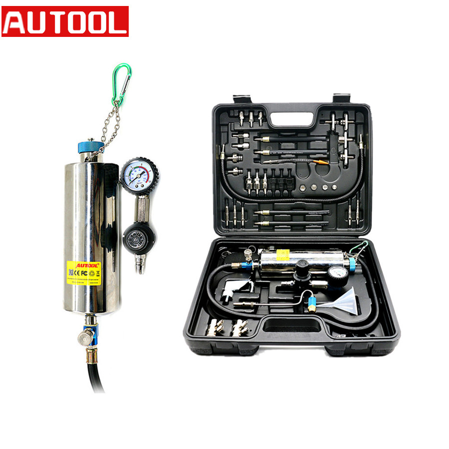 AUTOOL C100 Automotive Petrol Auto Non-Dismantle Fuel Injector Cleaner Tool