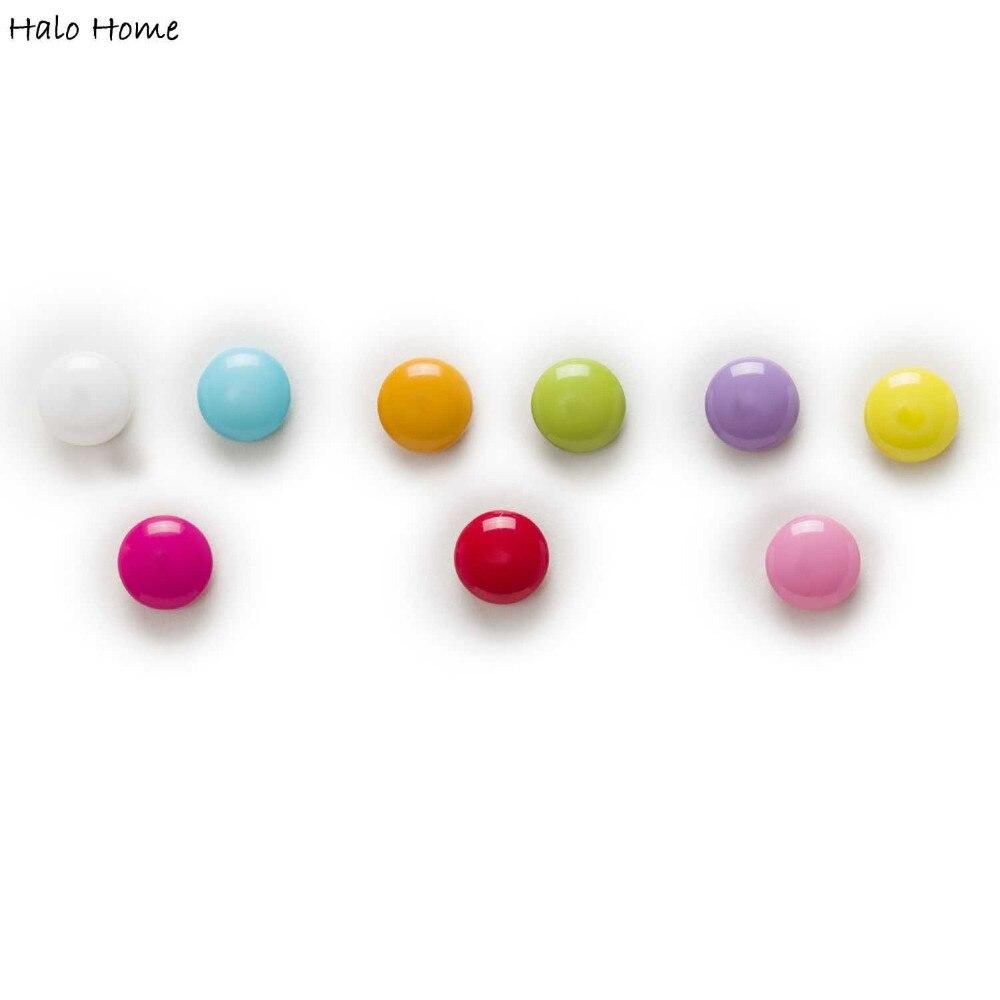 Candy Chocolate 100pcs Round Shank Eye Resin Button Sewing - Seni, kraf dan jahitan - Foto 3