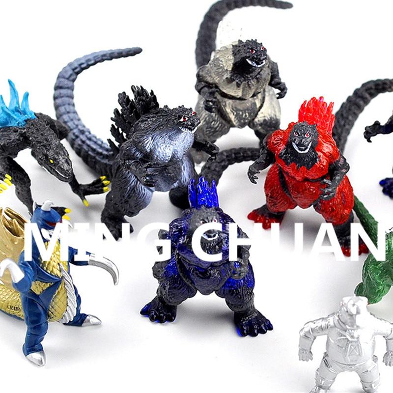 Godzilla Muto Monster Action Figure Collectible Model Toy 10pcs Lot