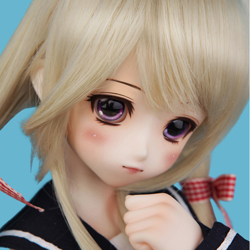 New Arrival 1 4 BJD SD Doll Beautiful COCO Resin Doll For Baby Girl Birthday Gift