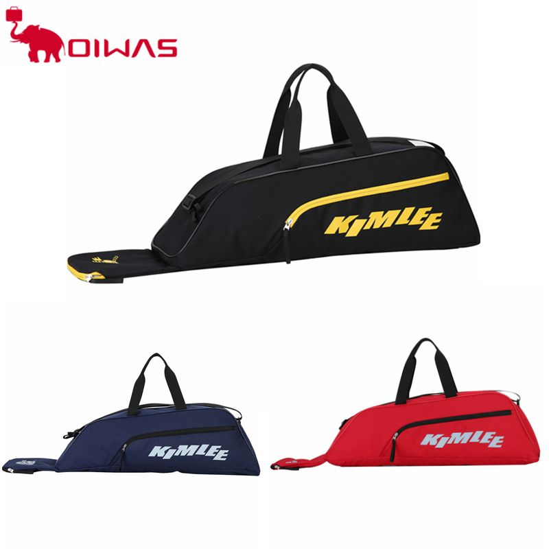 KIMLEE Baseball Tote Bag for Baseball T-Ball & Softball Equipment & Gear for Kid Youth and Adults Holds Bat Helmet Glove KCP1109
