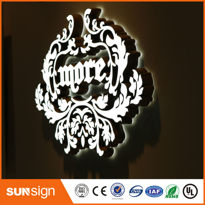 Factory Outlet Advertising Acrylic Mini Led Letter Sign