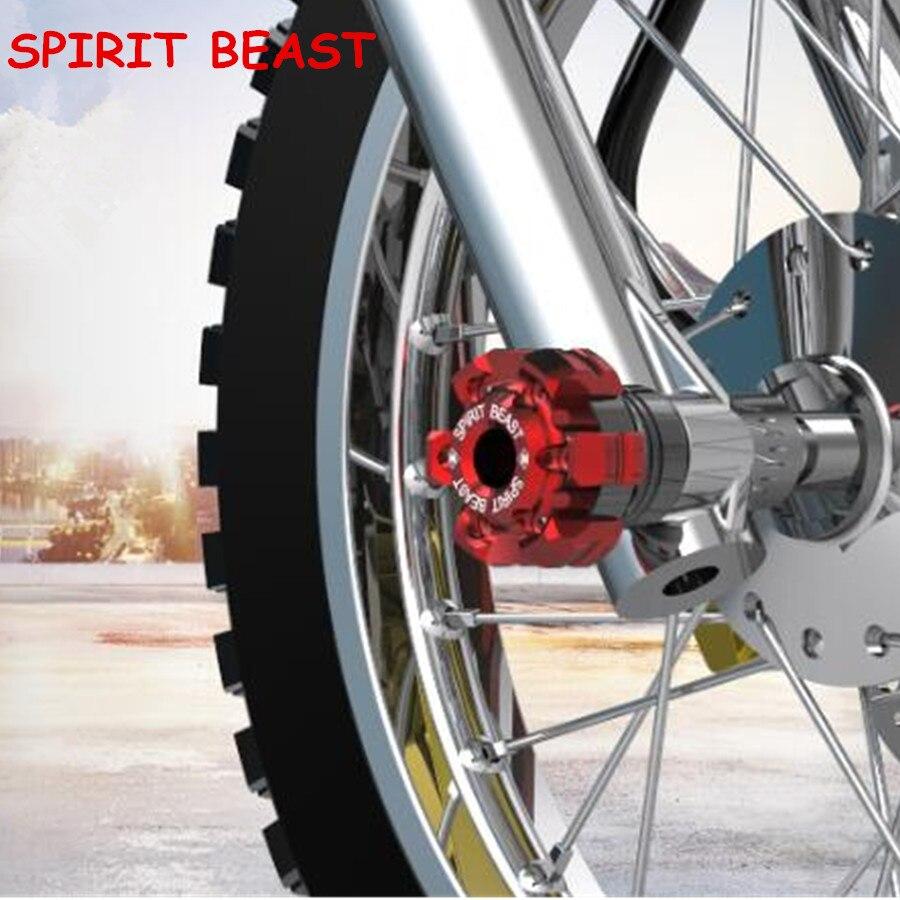 Дух зверя мотоцикл соучастником нового углеродного волокна мотоциклетные амортизация падение чашки передняя вилка защиты для мотоцикла