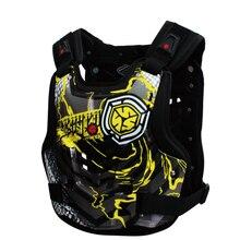 De Scoyco AM06 Motocicleta body armor Motocross Pecho y Parte Posterior del Protector Armadura Chaleco Racing Protective Body Guard Accesorios engranajes MX