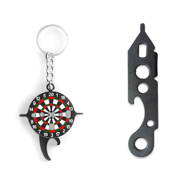 Keychain Dart Wrench Tool Tighten Darts Shafts Beer Bottle Opener Indoor Game 2019