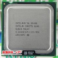Original Intel CPU Intel Core2 QUAD Q9400 CPU 2 66GHz LGA775 6MB Cache Quad CORE FSB