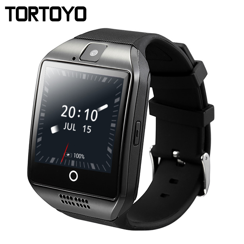 Q18 Plus Android OS Smart Watch Phone 3G GPS WiFi Wristwatch HD Camera Video Smartwatch 512MB