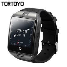 Q18 plus android os smart watch smartwatch teléfono 3g gps wifi de la cámara del reloj de hd de vídeo de 512 mb/4g bluetooth reloj whatsapp skype