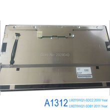 "New Original Computer LCD Screen For Apple iMac 27 "" A1312 LM270WQ1-SDC2  LM270WQ1-SDB1"