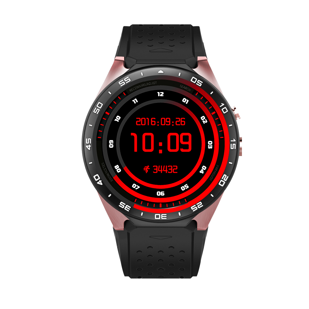 Fashion KW88 bluetooth Smart Watch android sim sport watch with heart rate monitor camera wacth for IOS android phone samrtwatch
