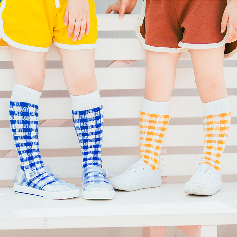 ZYZ High Quality Fashion Girls Knee High SocksSpring Summer Toddle Cotton Sports Wear Long Socks Boys z061