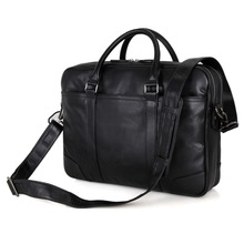 JMD Tanned Natural Cow Leather Handbag Mens Laptop Bag Briefcases For Business Man 7348A