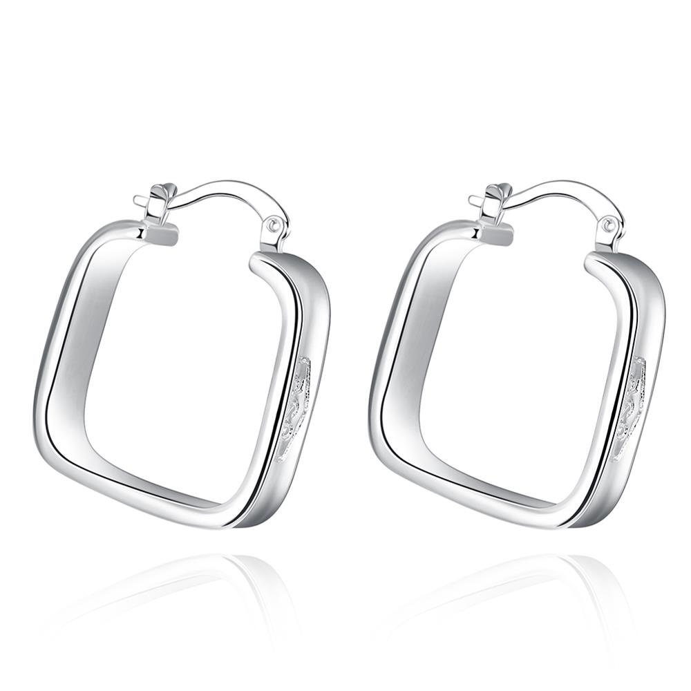 Ann & Snow Top Quality Classic Simple Cute Square Clip Earrings For Women  Boucle D'