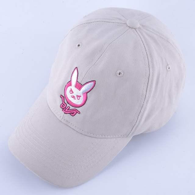 placeholder D. VA DVA algodão orelha de coelho bordado snapback boné De  Beisebol das mulheres dos f310f974d2e