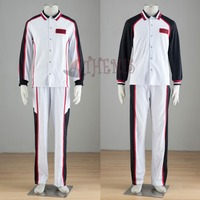 Athemis Sport Suit Kuroko No Basket Cosplay Costume Long Sleeves Sportswear Private Seirin Basketball Team Uniform