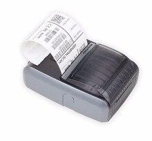 GS MP200 taschenformat Bluetooth Thermodrucker, tragbare Thermodirektdrucker, kleine größe Barcode Drucker