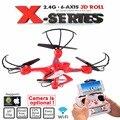 MJX X400 X400-V2 2.4G 6 Eixo RC Quadcopter Drone Com C4005 HD FPV Câmera EM TEMPO REAL ou Sem Câmera RC Helicóptero Dron