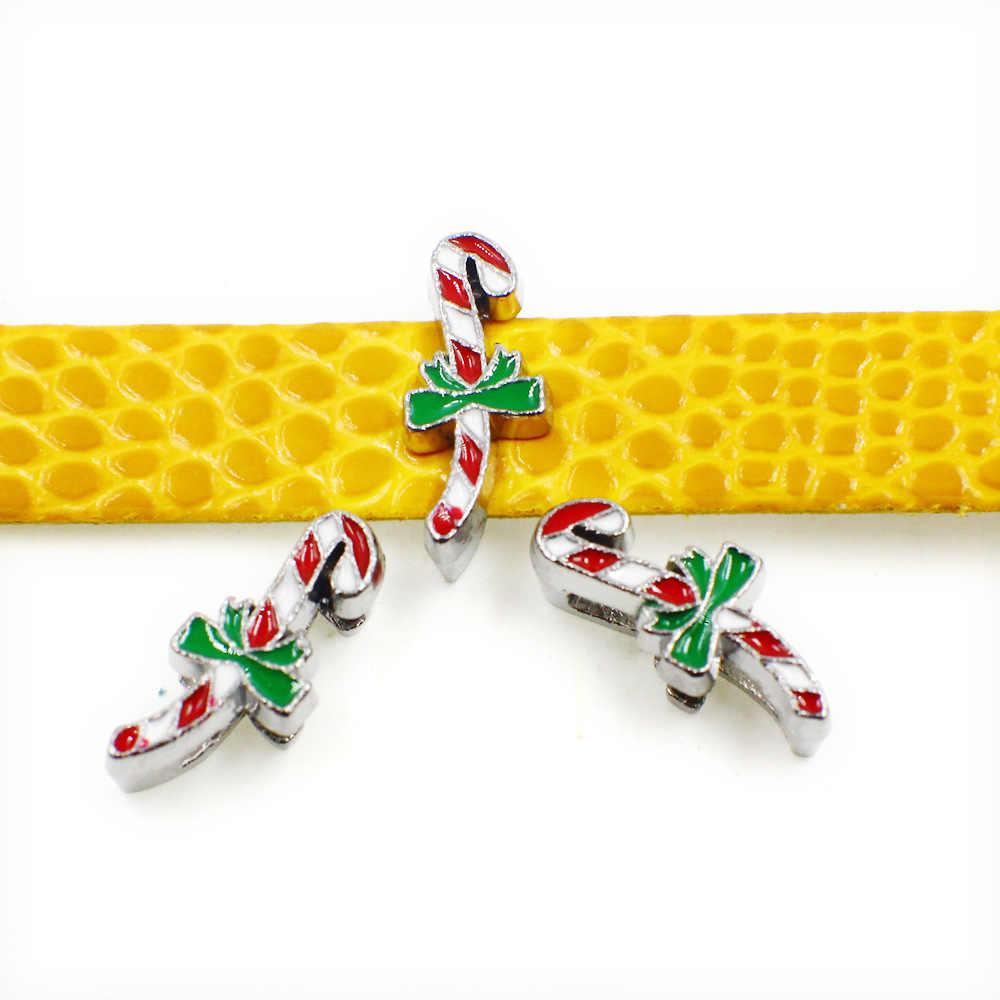 Смешанные 8 мм Рождественские серии горки очаровательные Санта-олень елка Шляпа сапоги слайды Подвески подходят Ошейники для домашних животных браслеты Подвеска на ремень ювелирные изделия