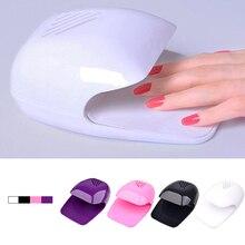 цены Manicure Tools Mini Portable Nail Polish Dryer Fan Nail Art Drying Polish Blow Dryer PINK Nail Cooler