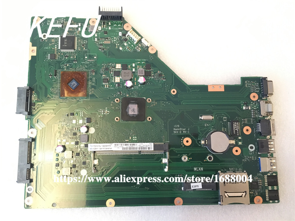 KEFU X55A For ASUS X55U X55A Integrated Laptop Motherboard Mainboard 100% Tested Freeshipping