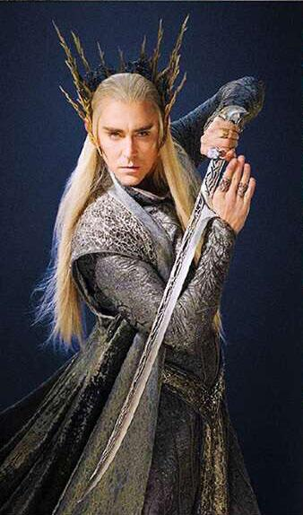 Us 60 1 S0097 Movie The Hobbit Elven King Sword Of Thranduil 2 Options W Scabbard Wood Display 26 9 In Toy Swords From Toys Hobbies On