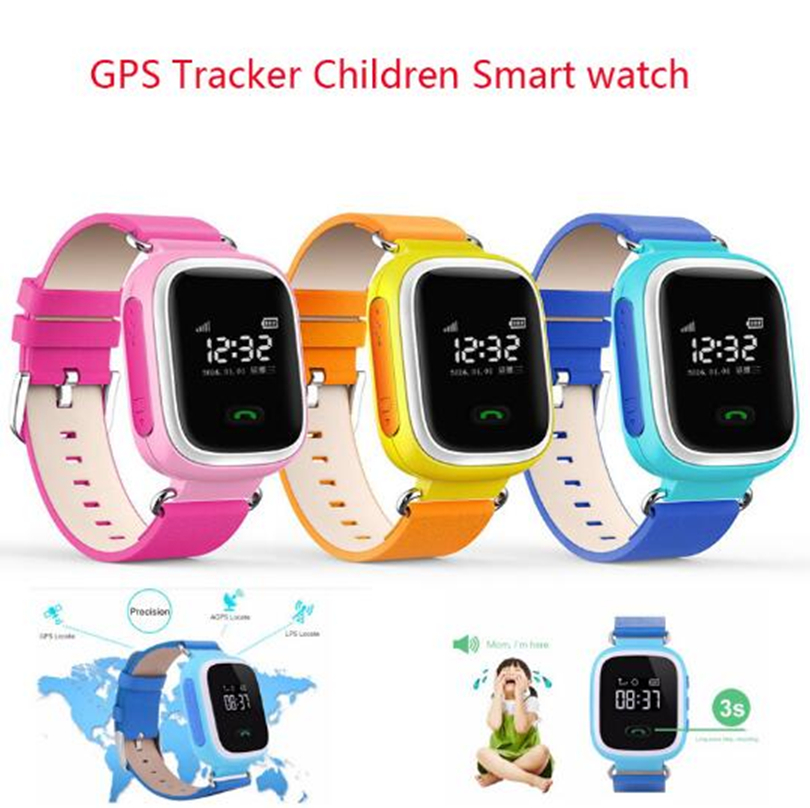 Montre intelligente Q90 pour enfants SOS appel localisation localisateur dispositif Tracker enfants Anti-perte montre-bracelet meilleur cadeau pour les enfants - 2
