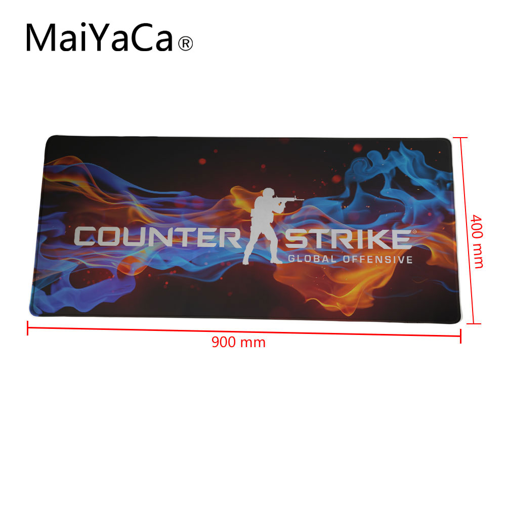 MaiYaCa csgo mouse pad 40x90cm 30x90cm notbook computer mousepad hot sales Rubber gaming padmouse gamer to laptop mouse mat