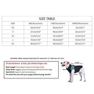 Image 5 - Köpek ceket küçük köpekler için kırmızı Monogram ceket fransız Bulldog kostüm Pug ceket PC1042