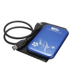 Image 4 - 金属ケースポータブル外部ハードドライブ 2.5 HDD 1 テラバイト Usb 3.0 ノート Pc 携帯ハードドライブ Windows Mac