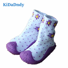 KiDaDndy Toddler Shoes With Soft Bottom Baby Girl Non-Slip Floor Girl Boy Socks Newborn Enfant Shoes WS9321LL