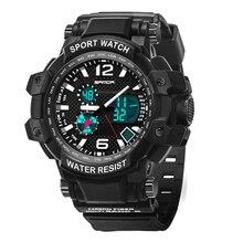 цена 2019 SANDA G Luxury Brand Men Military Sports Watches Digital LED Quartz Display Men's Wristwatch relogio masculino shock proof онлайн в 2017 году