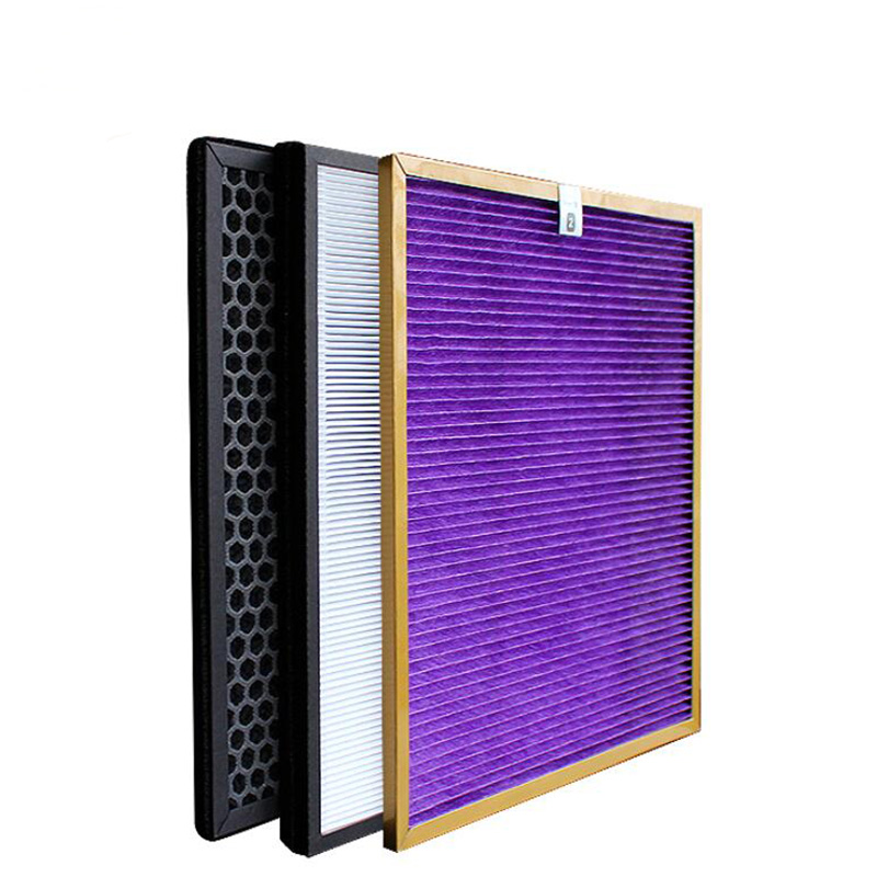 For Philips Air Purifier AC4002 AC4004 AC4012 Dust Collection Heap Filter AC4124 Carbon Filter AC4123 Formaldehyde Filter AC4121 in Air Purifier Parts from Home Appliances