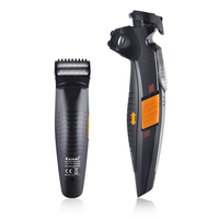 New Charge And Insert Dual-Use Personal Care 2 In 1 Multi-Function 19 File Adjustable Length Adjustable Men's Hair Clipper   Razor